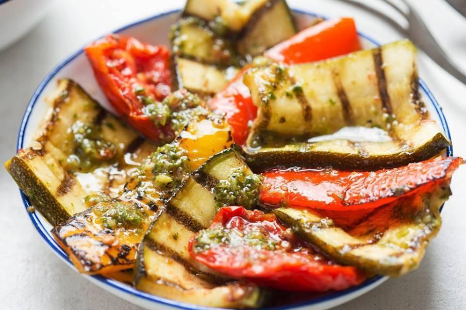 Verdure Grigliate al Pesto