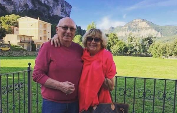 Anna Moroni ed il marito Tonino - Instagram