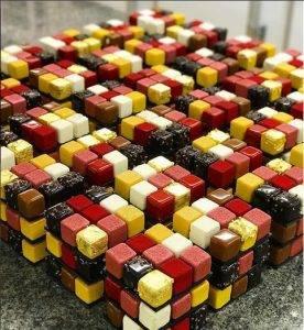Cedric Grolet - Rubik Cake
