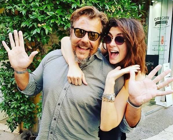 Elisa Isoardi e Andrea Lo Cicero - Instagram