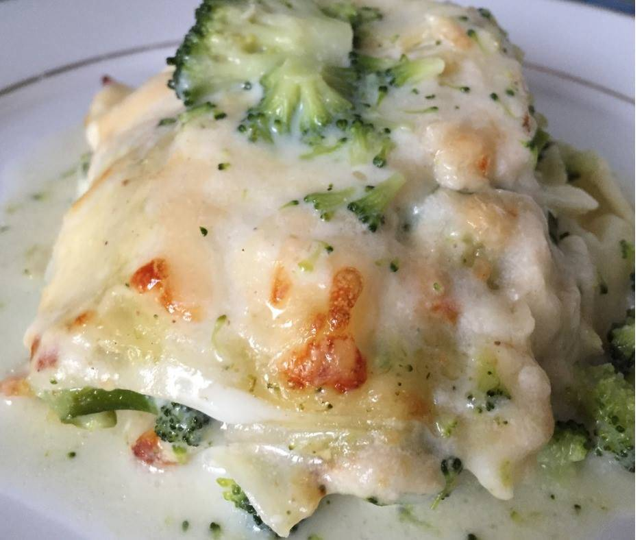 Lasagna con Broccoli