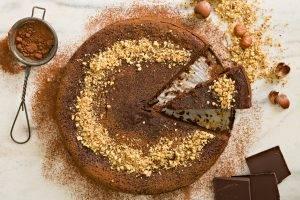 Torta 5 minuti alla Nutella