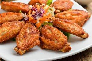 ali di pollo al forno croccanti