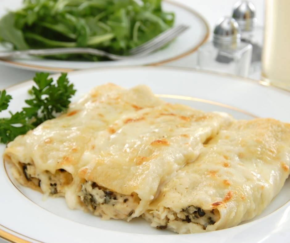 Cannelloni Pollo e Spinaci
