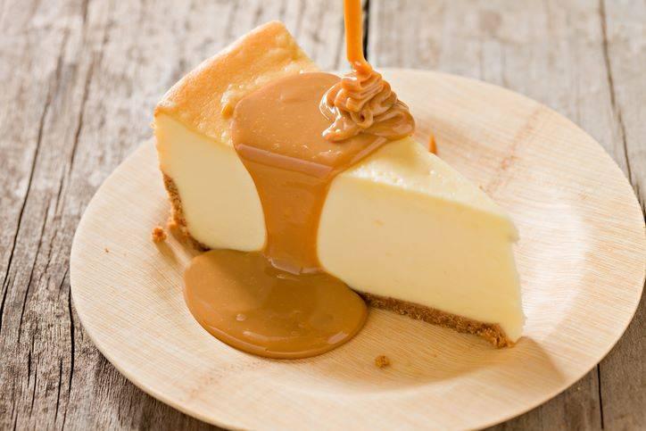 cheesecake alla ricotta con caramello