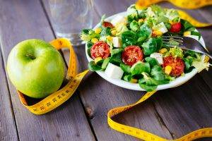 dieta della lattuga e mele