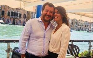 Elisa Isoardi e Matteo Salvini - Instagram Ufficiale