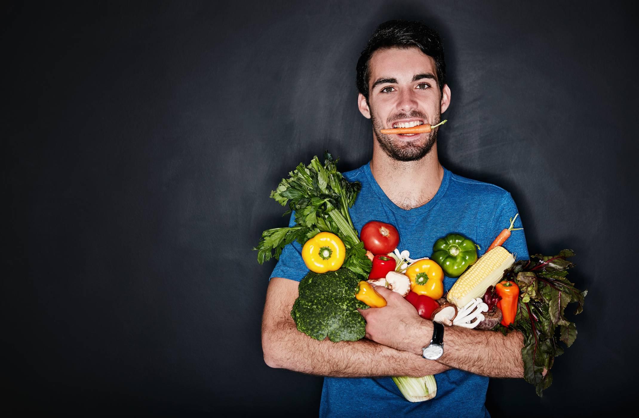Sei vegetariano? Tutto quello che gli uomini non dicono