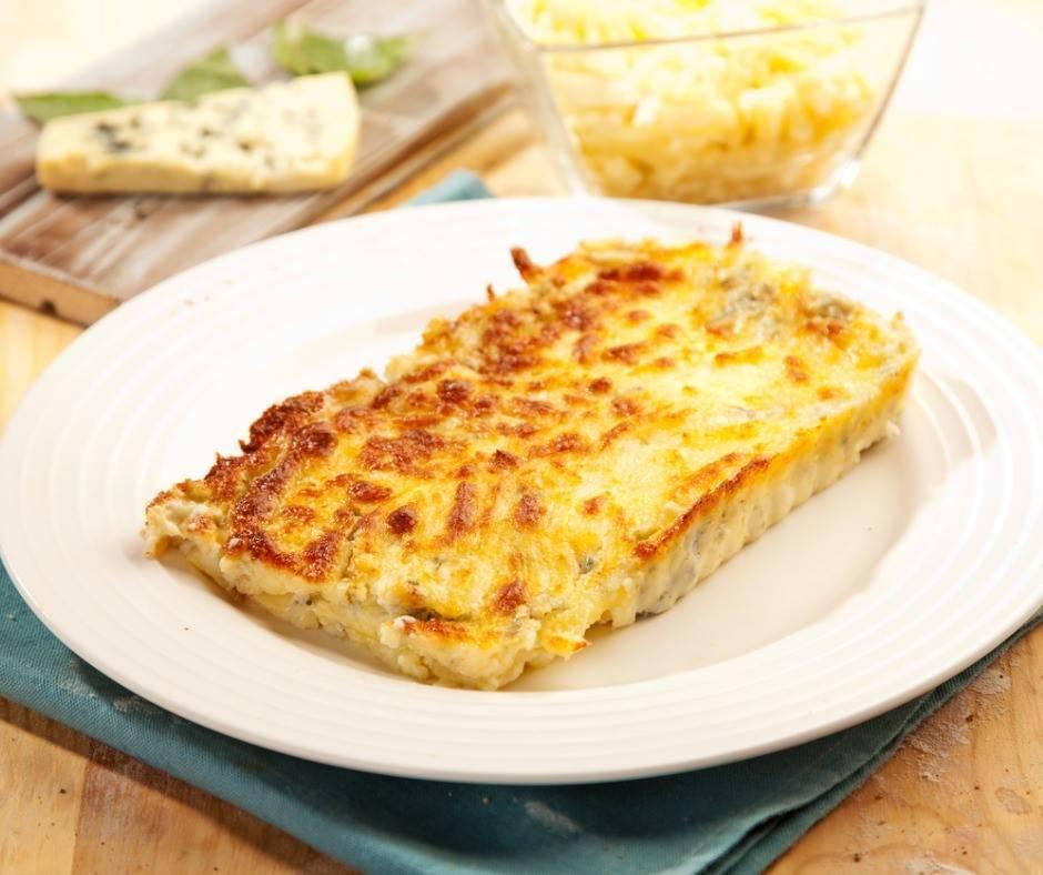 Sformato di Patate e Gorgonzola