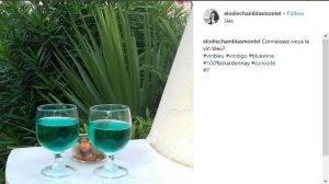 Arriva il vino blu - Foto Instagram