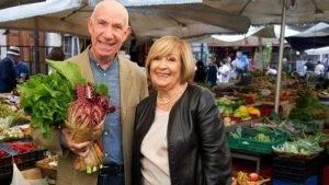 Anna Moroni e Davide Mengacci, conduttori di Ricette all'Italiana
