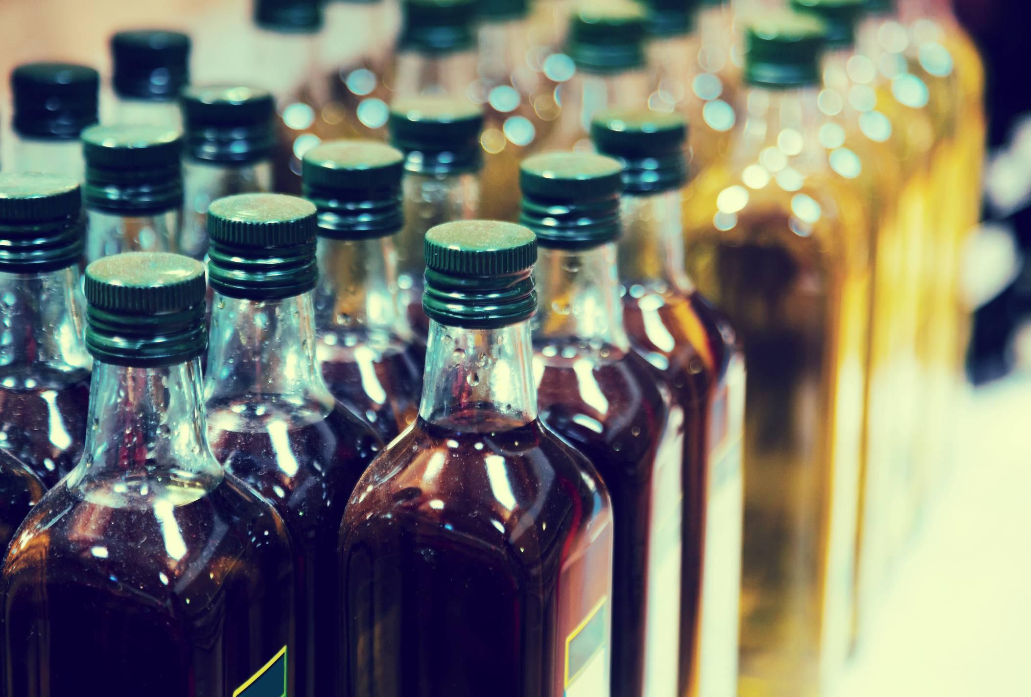 Olio di oliva contraffatto