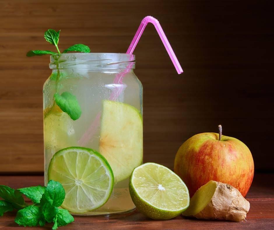 Zenzero, limone e mela, il mix per depurare l'intestino