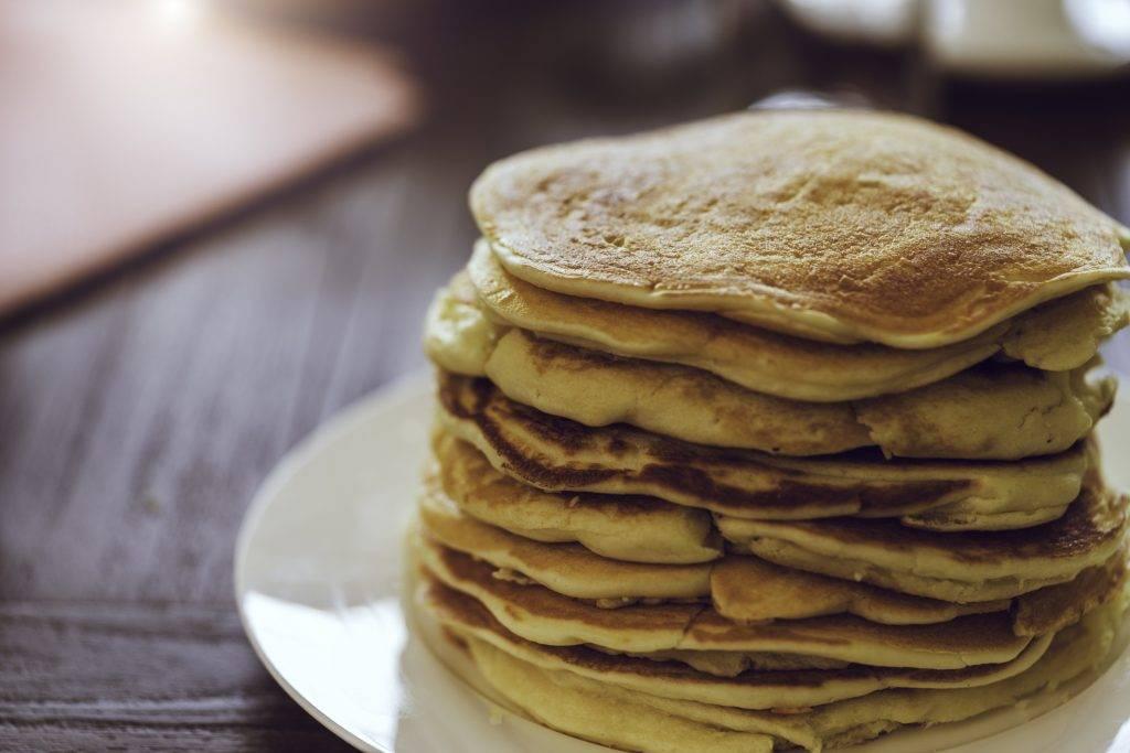 tiramisu con pancakes