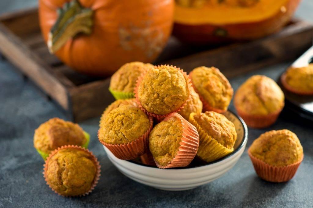 Muffin soffici alla zucca