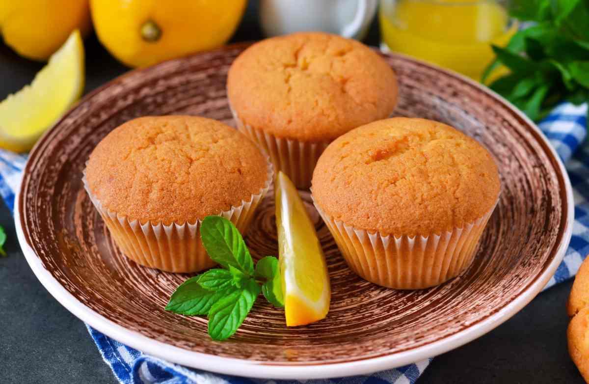 Tortine di limone senza bilancia