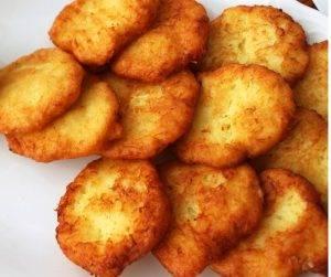 Bomboloni di patate con provola e prosciutto