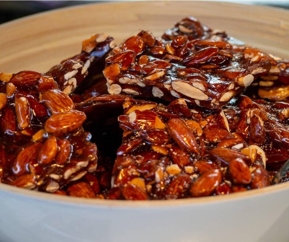 Croccante nocciole, mandorle e arachidi