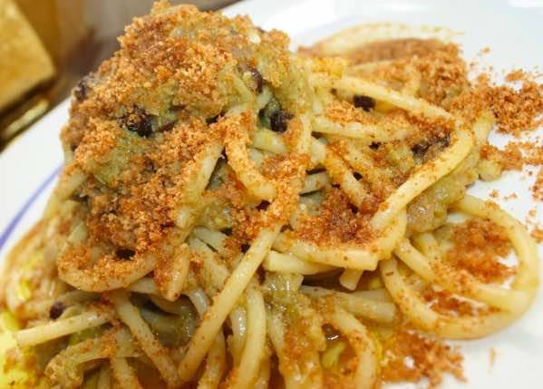 Pasta con broccolo in carrozza