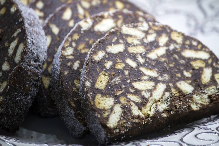 salame di cioccolato light