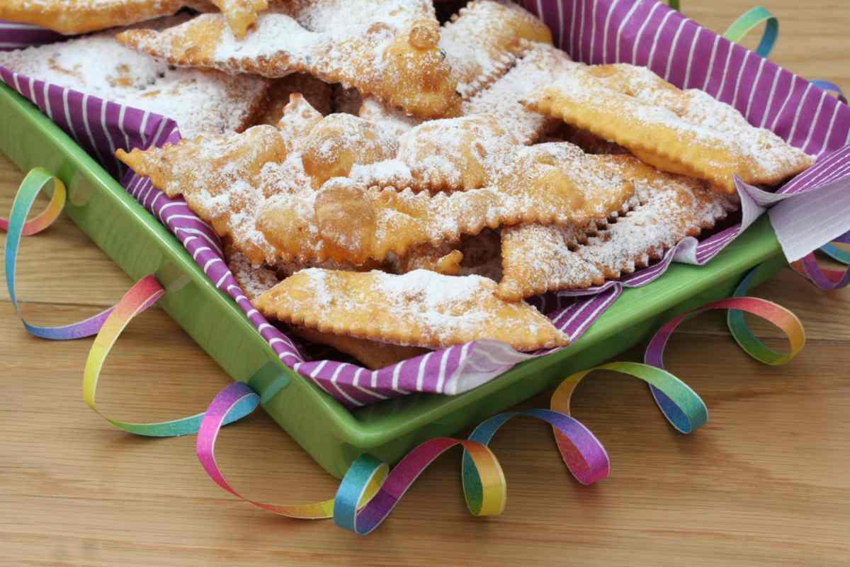 Chiacchiere senza Glutine di Carnevale