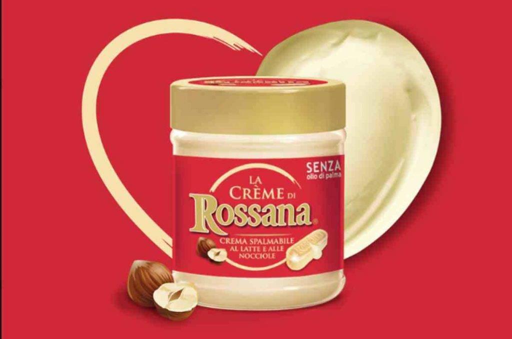 Arriva la crema Rossana