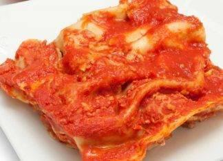 Le lasagne? Non sono emiliane, ma napoletane