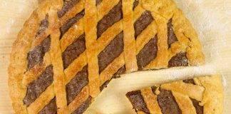 crostata ricotta e nutella