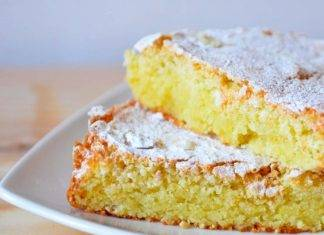 torta di mandorle senza lattosio