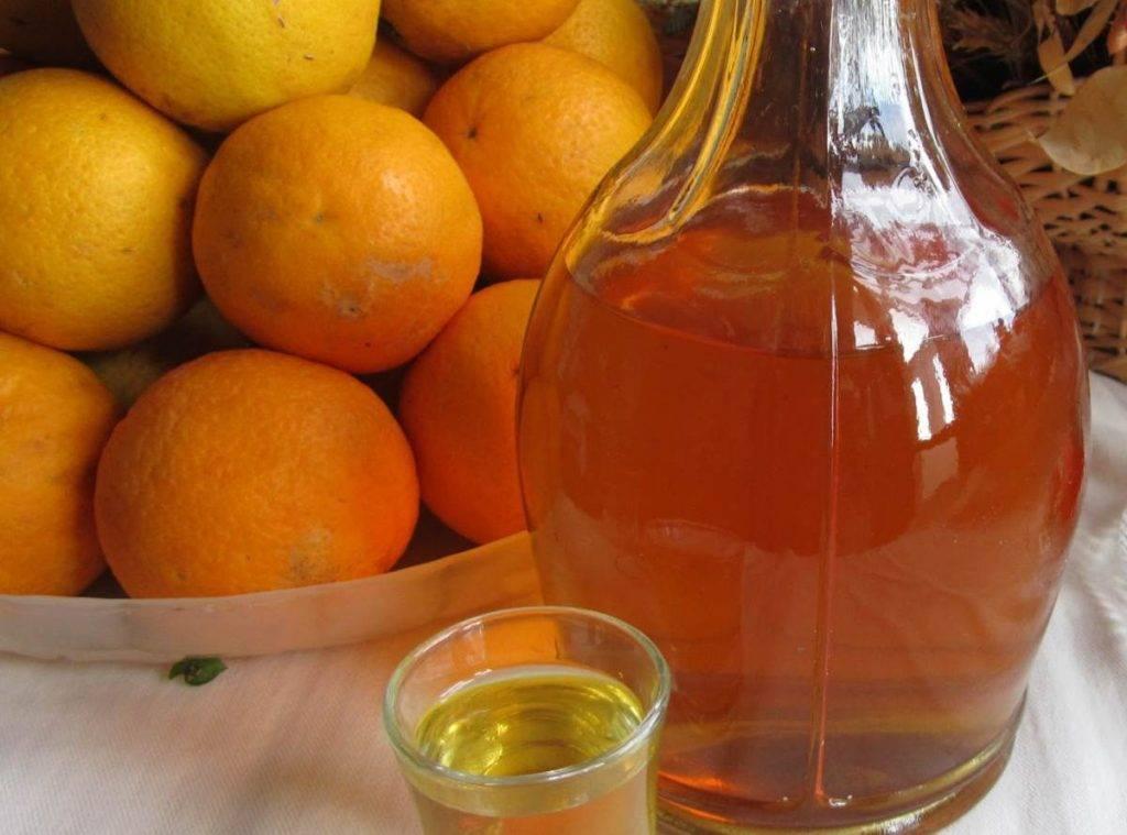 Liquore all'arancia furbo