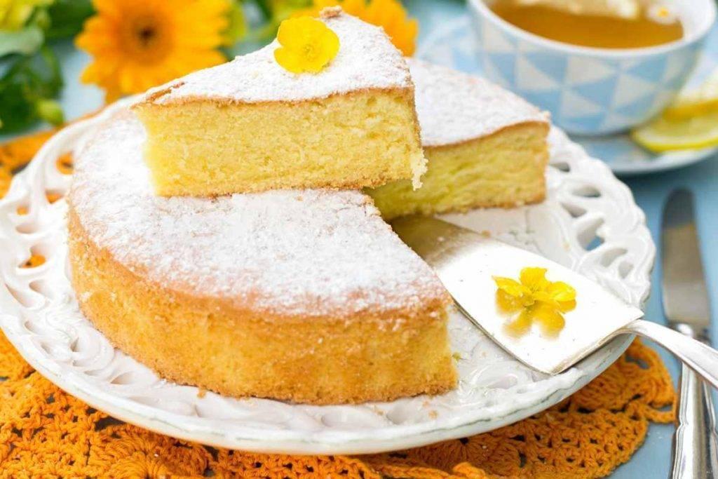 Torta Spumosa senza Farina