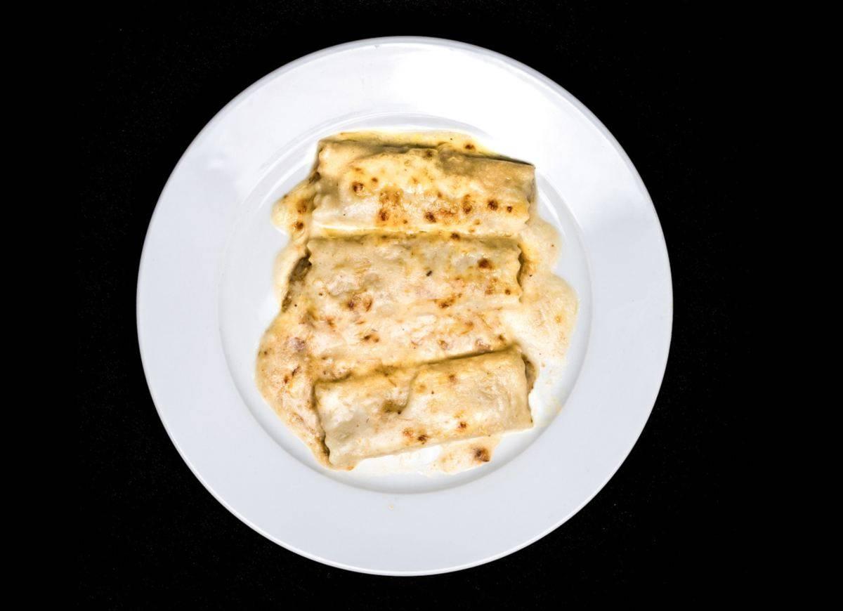 Cannelloni Ripieni di Robiola e Carciofi