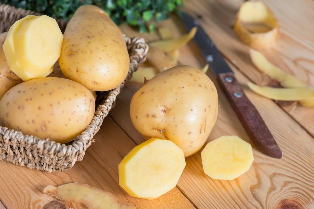 Patate con Funghi e Cipolle