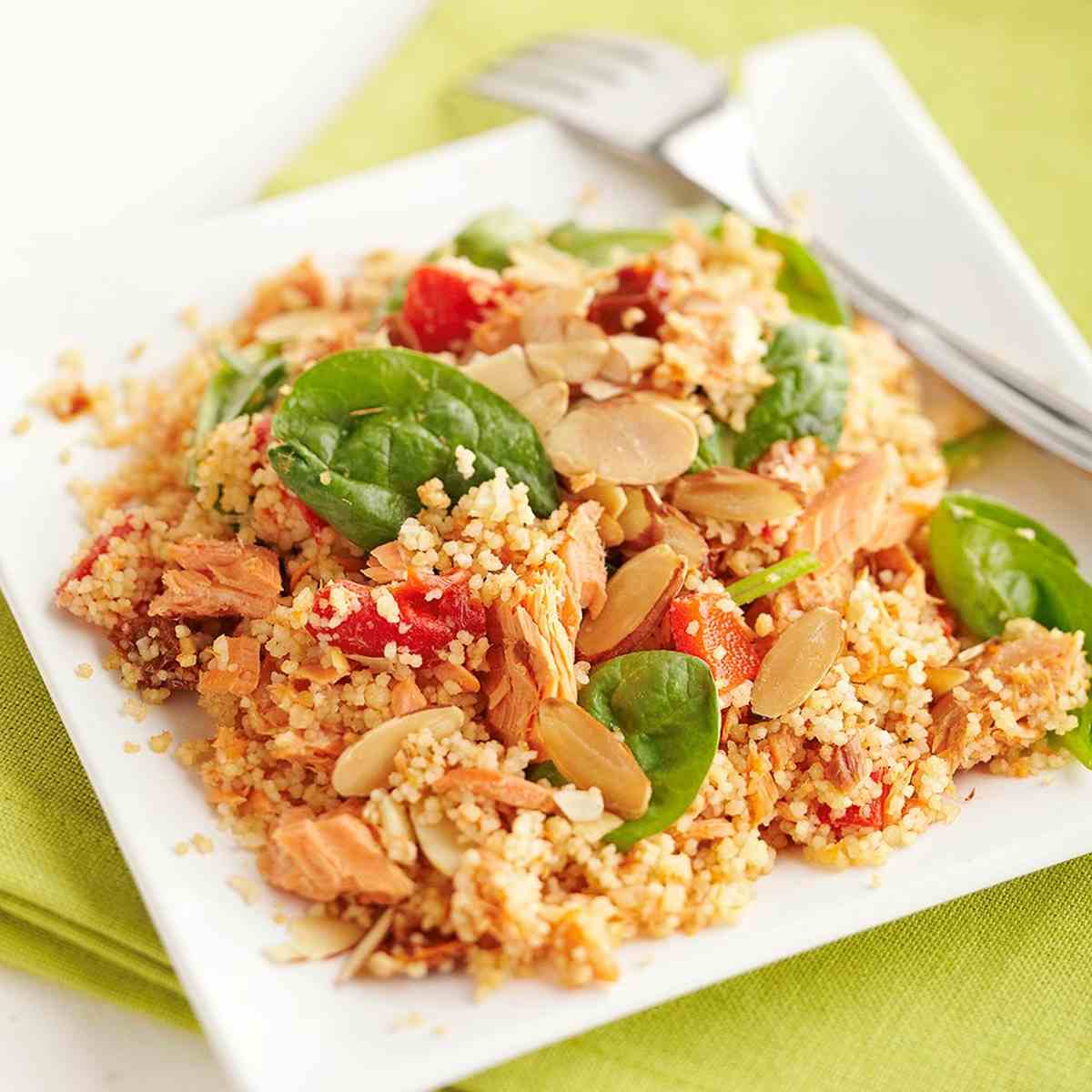 Cous cous di salmone
