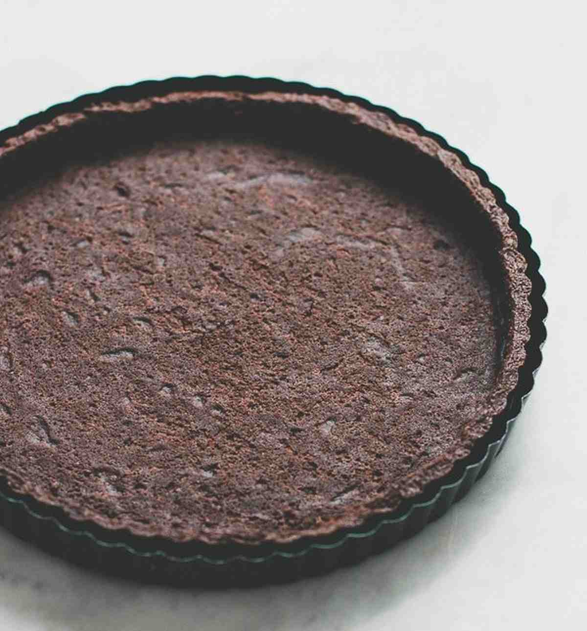 Base crostata morbida al cacao