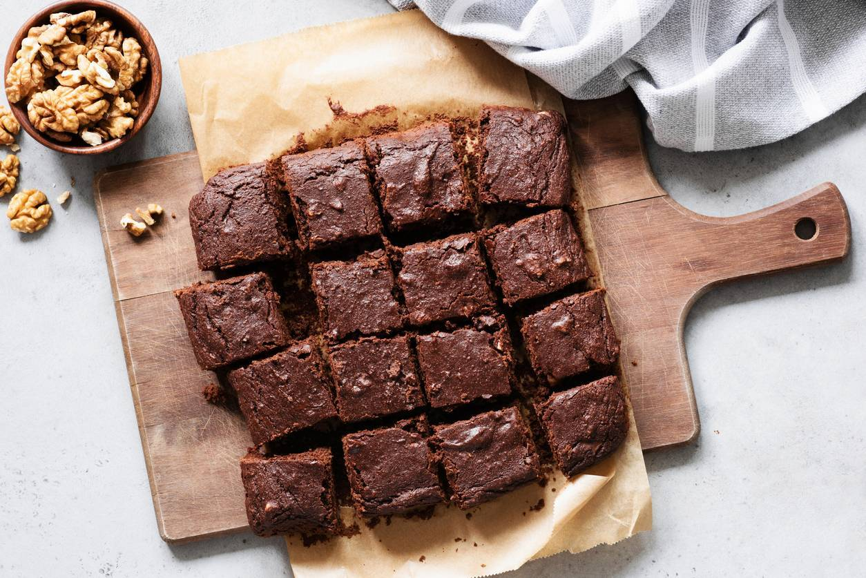 Torta al cacao con grano saraceno e noci - Ricettasprint.it