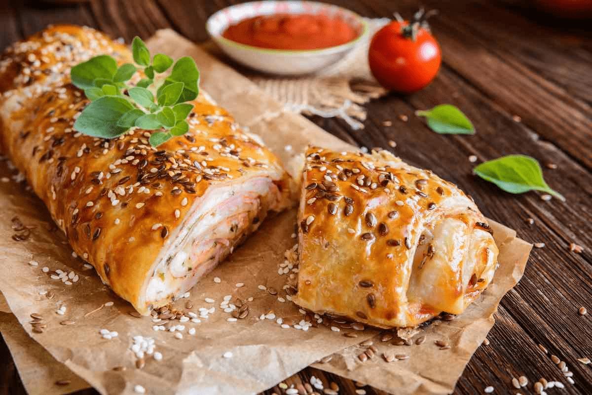 Rotolo di pasta sfoglia senza glutine