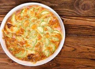 Pasticcio di zucchine e ricotta con prosciutto - ricettasprint.it
