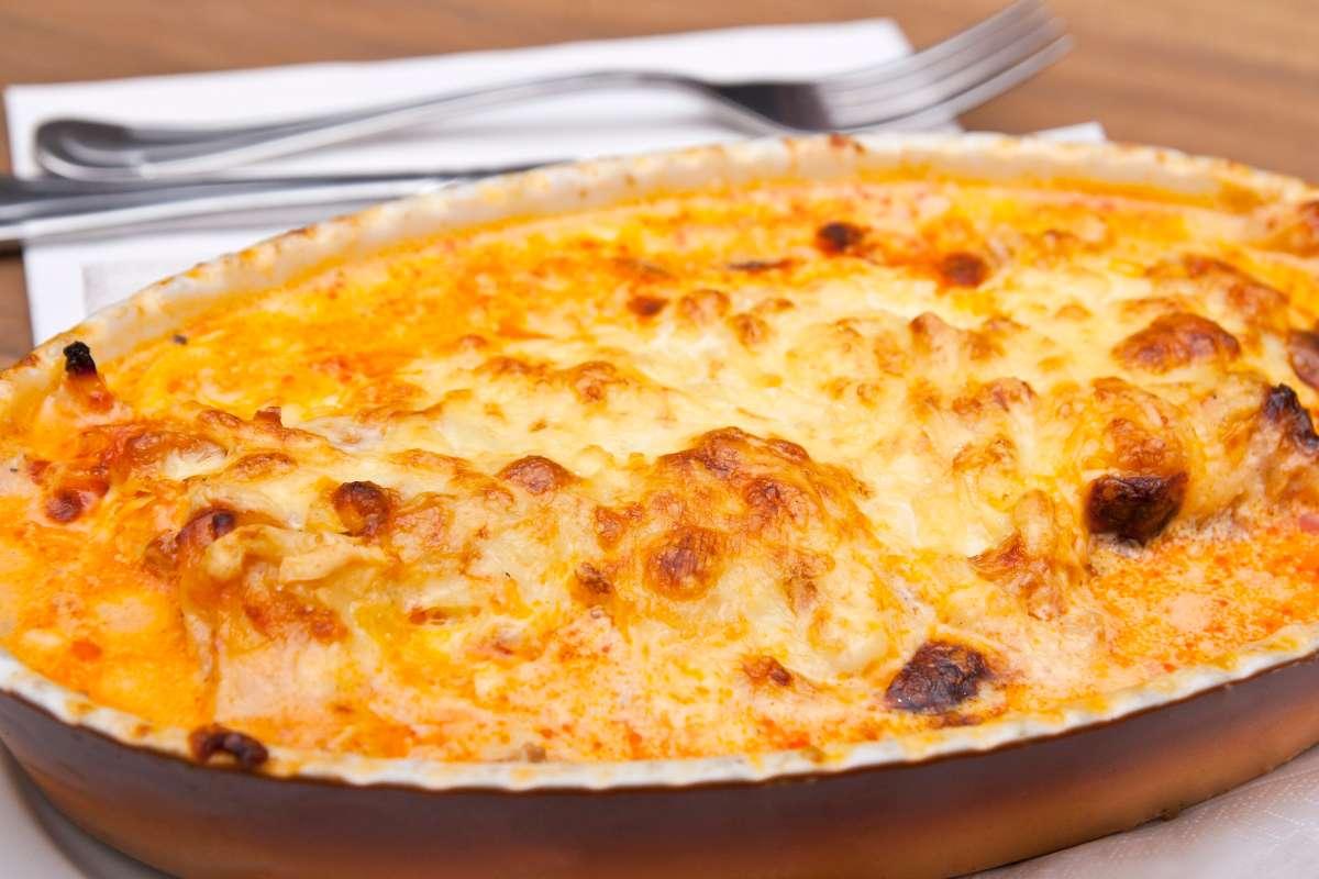 Riso al forno con mozzarella e prosciutto - ricettasprint.it