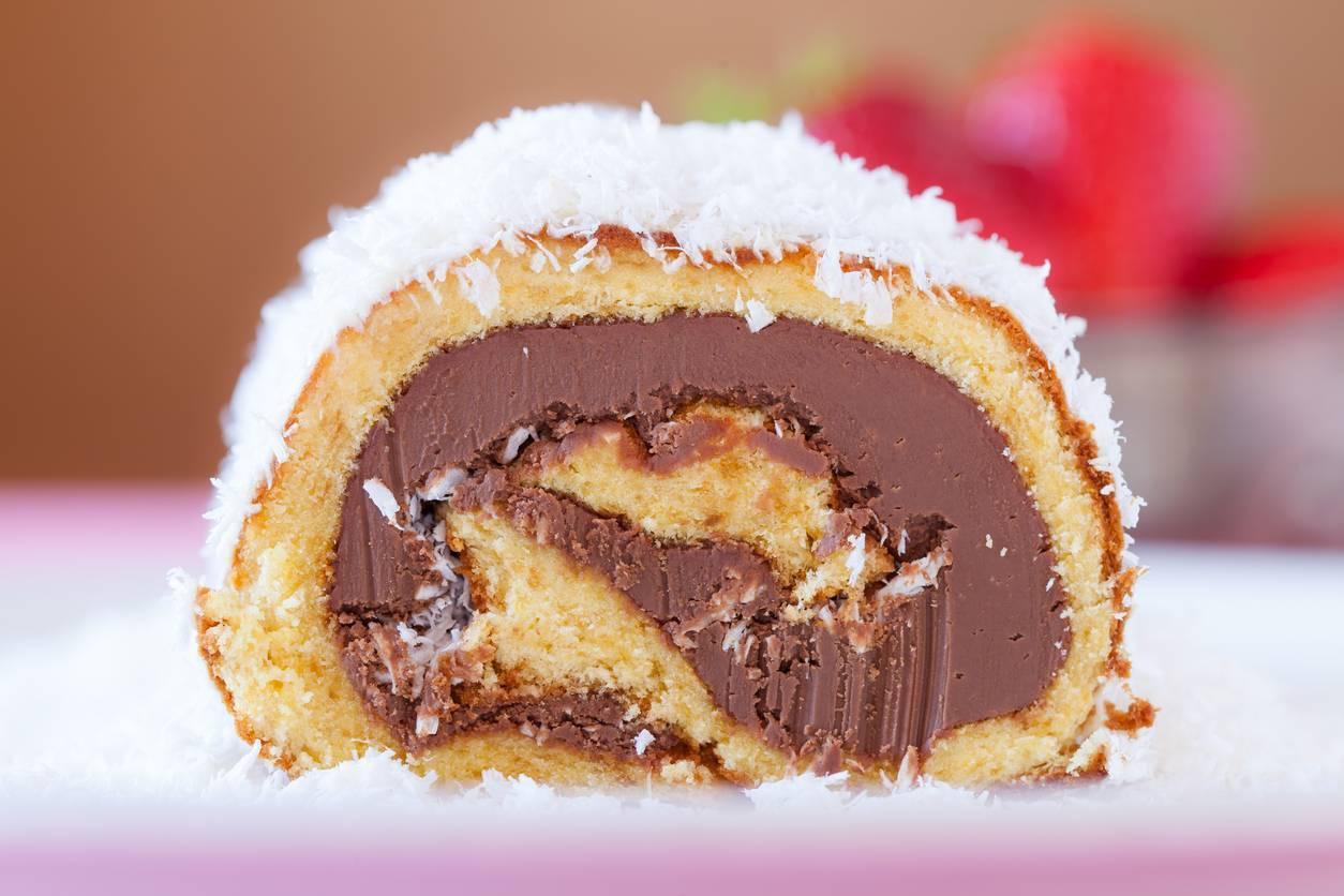 Rotolo Cocco e Nutella