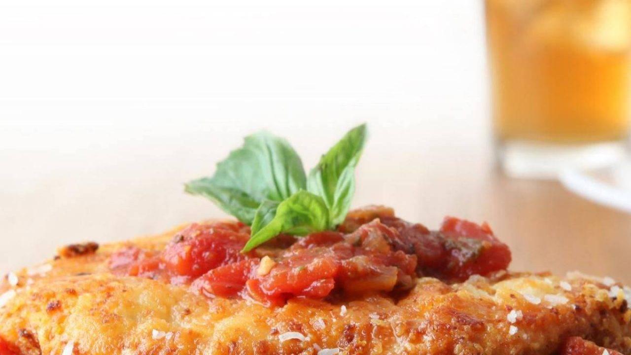 Ricette Italiana Di Pollo.Pollo All Italiana Ricetta Veloce Con Pomodori E Parmigiano