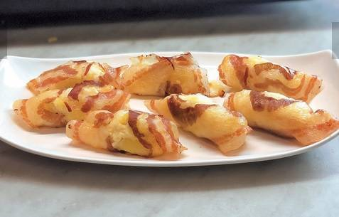 Involtini di patate e pancetta di Benedetta Parodi
