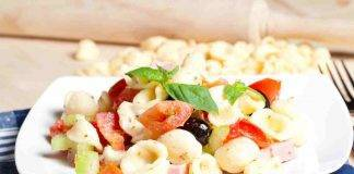 Orecchiette con pomodorini e olive