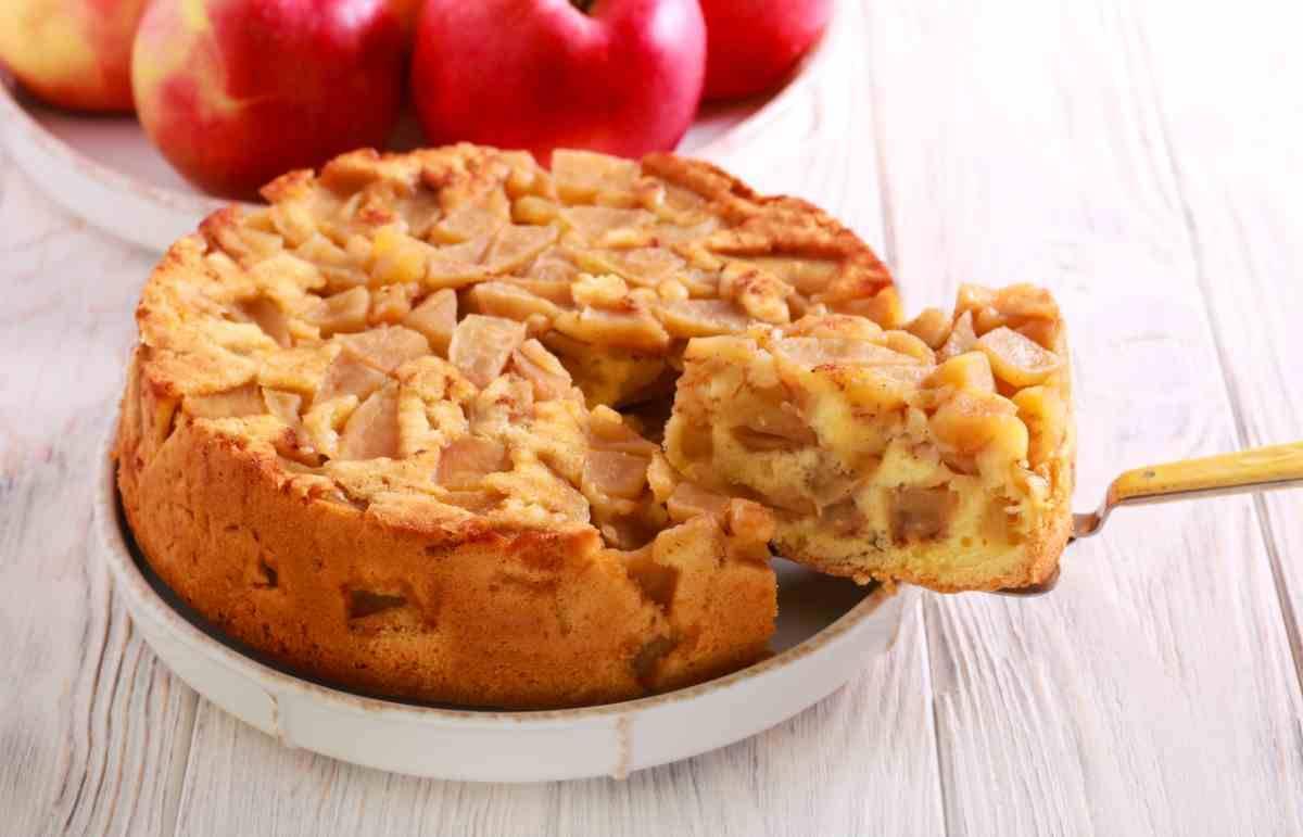 Torta strudel di mele