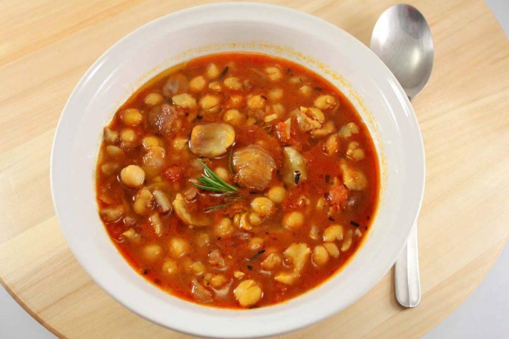 Zuppa di ceci e castagne - ricettasprint.it