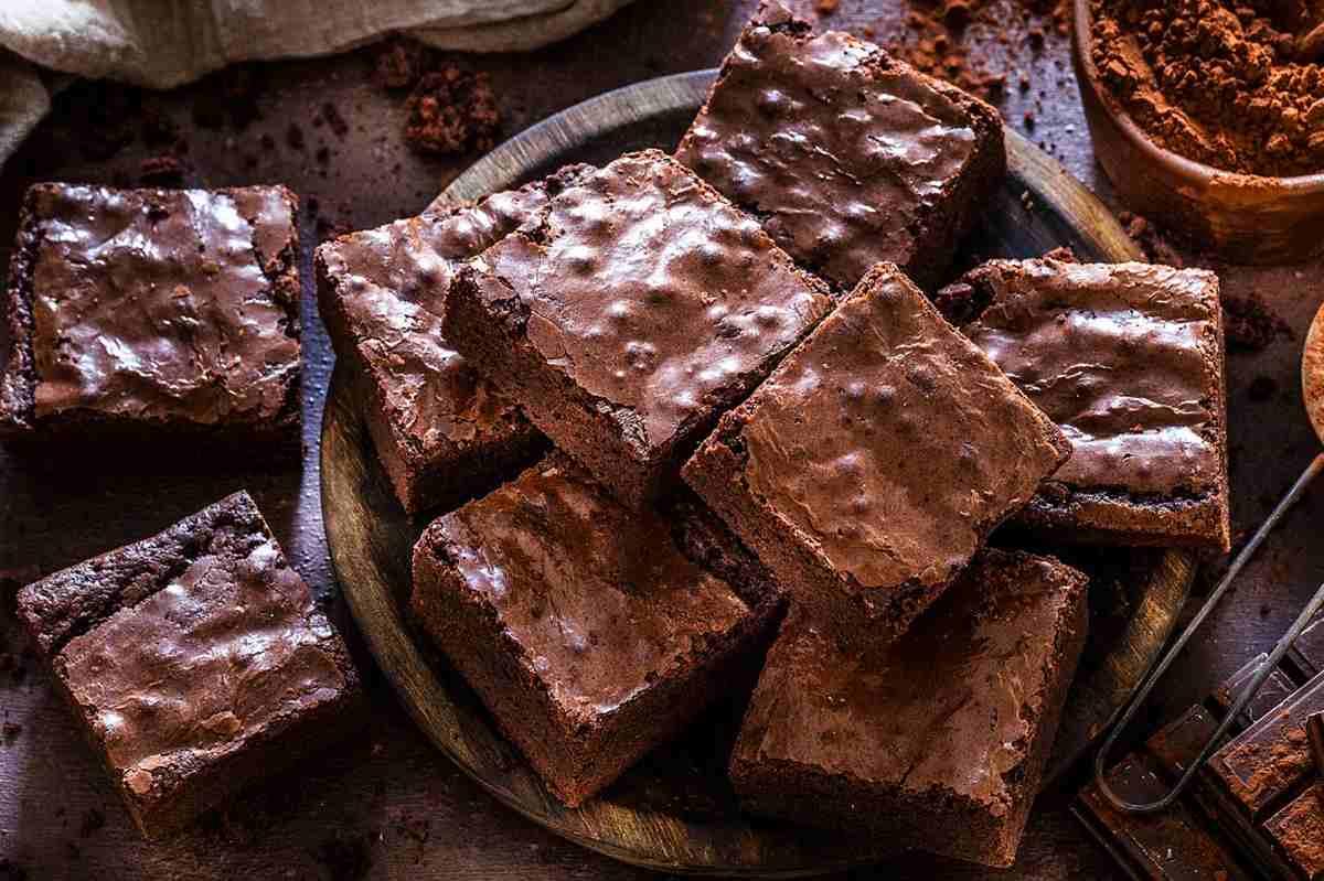 Brownies alla nutella senza burro
