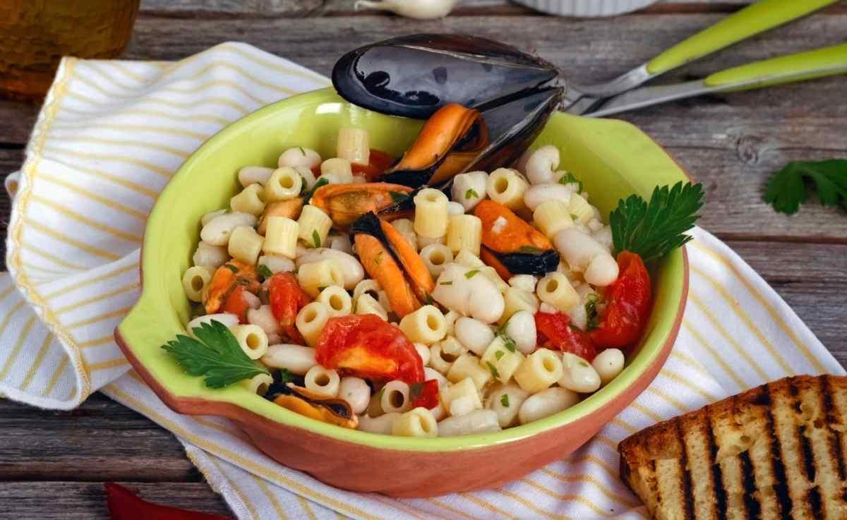 pasta fagioli e cozze - ricettasprint.it