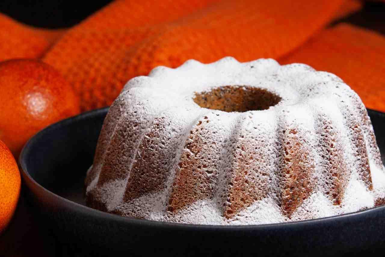 Ciambella con farina di riso ed arance