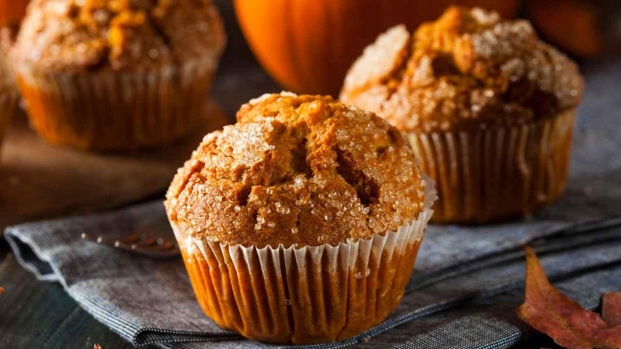 Muffin alla zucca - ricettasprint