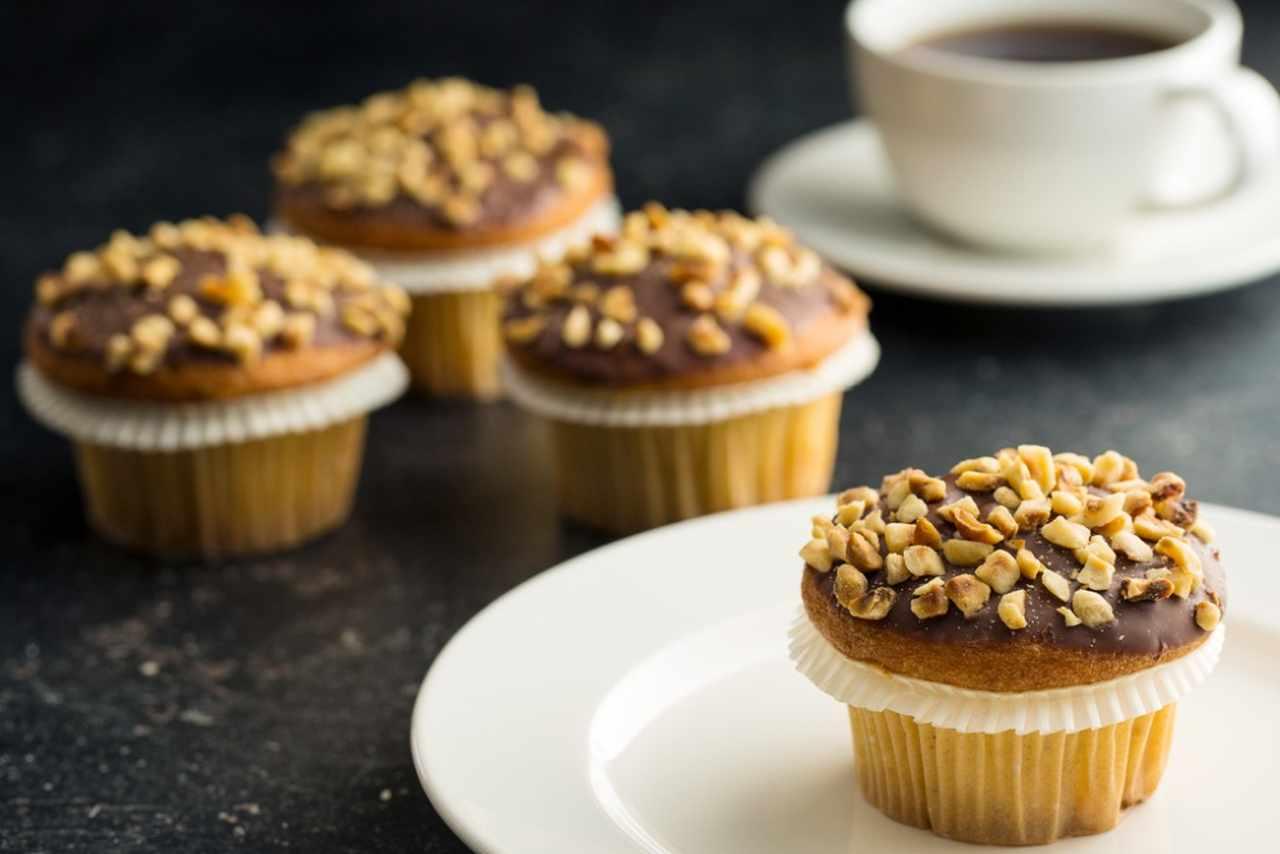 Muffin alle nocciole e yogurt